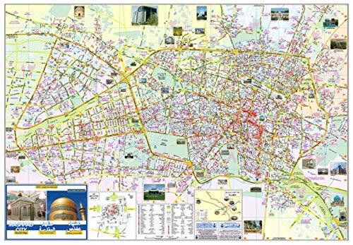 Tourist Map of Mashhad City
