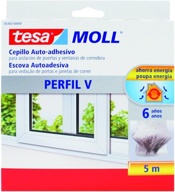 Cepillo para ventanas correderas Perfil V tesamoll (5m)