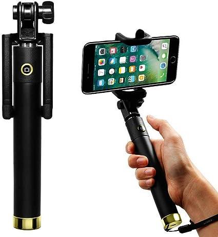 Palo de selfie (dorado), Blackview A20 Pro selfie universal ...
