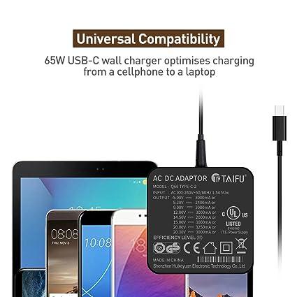 TAIFU - Cargador Universal para Acer Chromebook 14 CB514 ...