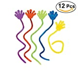 NUOLUX 12pcs arrampicata Palms appiccicoso gelatina mani giocattolo