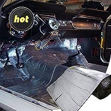 LINGDA 13 SqFT 10mm Heat Shield Thermal Sound Insulation Proofing Deadener Mat Car Noise Control Acoustic Dampening Moistureproof Waterproof (40inch X 47inch)