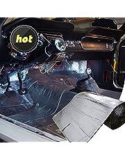 LINGDA 10mm Heat Shield Thermal Sound Insulation Proofing Deadener Mat Car Noise Control Acoustic Dampening Moistureproof Waterproof