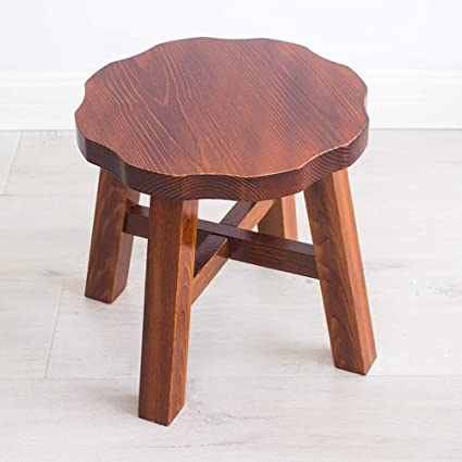 Wondrous Amazon Com Boosc Home Living Room Stool Creative Solid Wood Caraccident5 Cool Chair Designs And Ideas Caraccident5Info