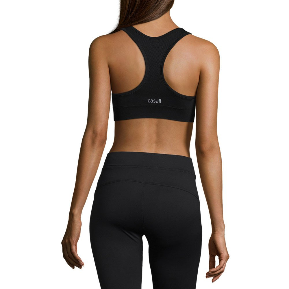 Casall - Smooth Sports Bra, Color Negro, Talla UK-12: Amazon ...