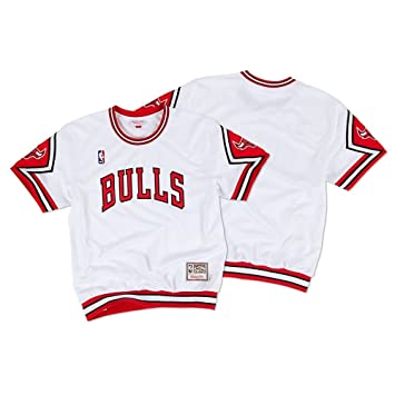 Mitchell & NESS CHICAGO BULLS hardwood Classics Authentic camiseta de colour blanco Blanco blanco Talla: