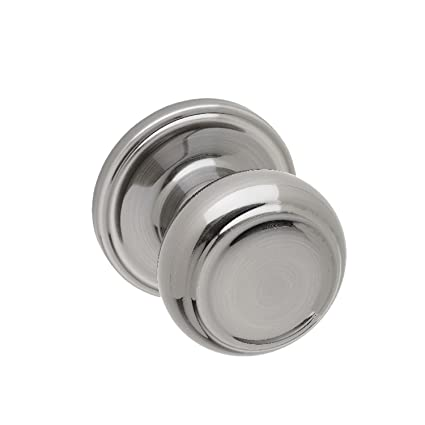 Copper Creek CK2090AN Colonial Dummy Door Knob, Antique Nickel