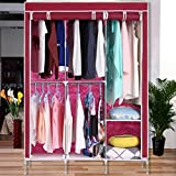 Nessere Portable Clothes Closet Portable Closet Wardrobe Closet Vests