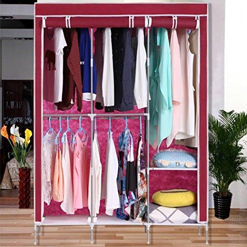 Nessere Portable Clothes Closet Portable Closet Wardrobe Closet Vests by Nessere
