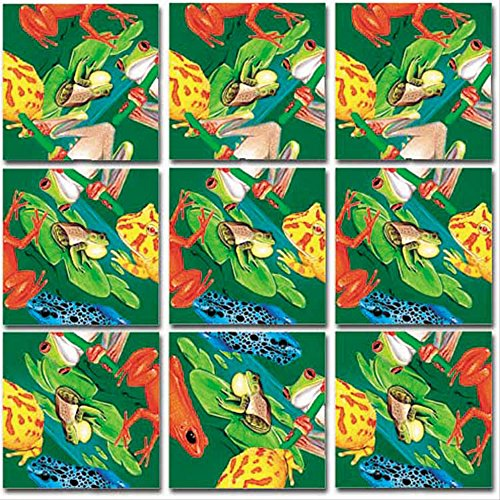 Scramble Squares: Frogs (Poison Dart Tree Frogs)