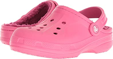 a8770c62cad2 Crocs Kids Unisex Winter Clog (Toddler Little Kid) Paradise Pink Berry 6