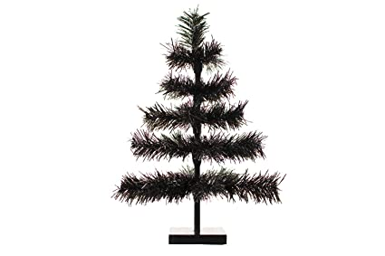 Amazon Com 24 Black Christmas Trees 2ft Tall Flame Resistant