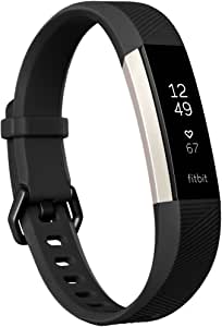 Fitbit Alta HR Health & Fitness Tracker with Heart Rate, Large - Black