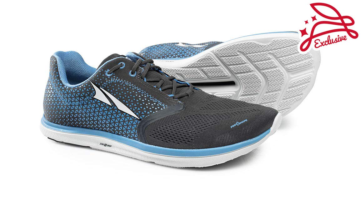 Altra Men's Solstice Running Shoe - Color: Grey/Blue (Regular Width) - Size: 8 by Altra (Image #5)