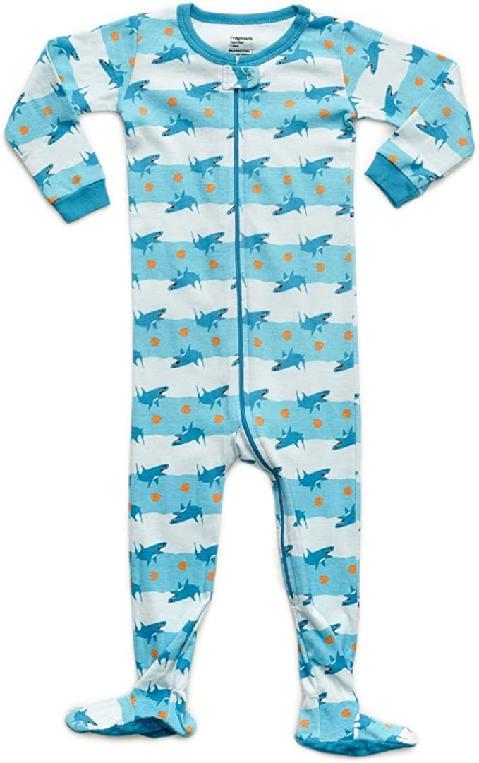 Leveret Baby Boys Fish Fleece Footed Sleeper Pajama Size 6M-5T
