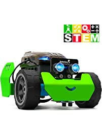 STEM Robot Kit - DIY Mechanical Building Robotic Coding Kit with Remote Control for Kids Teens, Robobloq Q-Scout...
