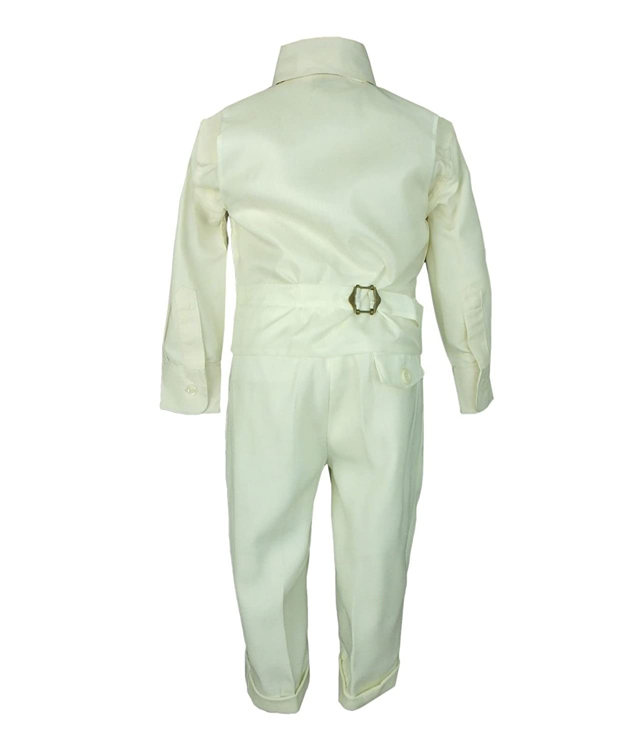 Baby Boys Ivory Christening Suit 4 Piece Baptism Outfit by Sebastian Le Blanc