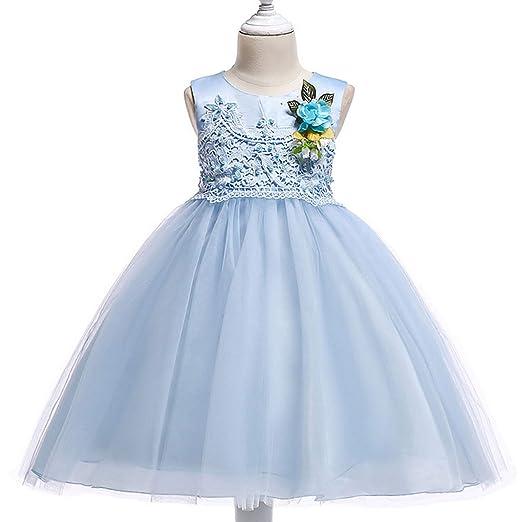 Vestido Fiesta Niña Falda Princesa Disfraz de Ceremonia ...