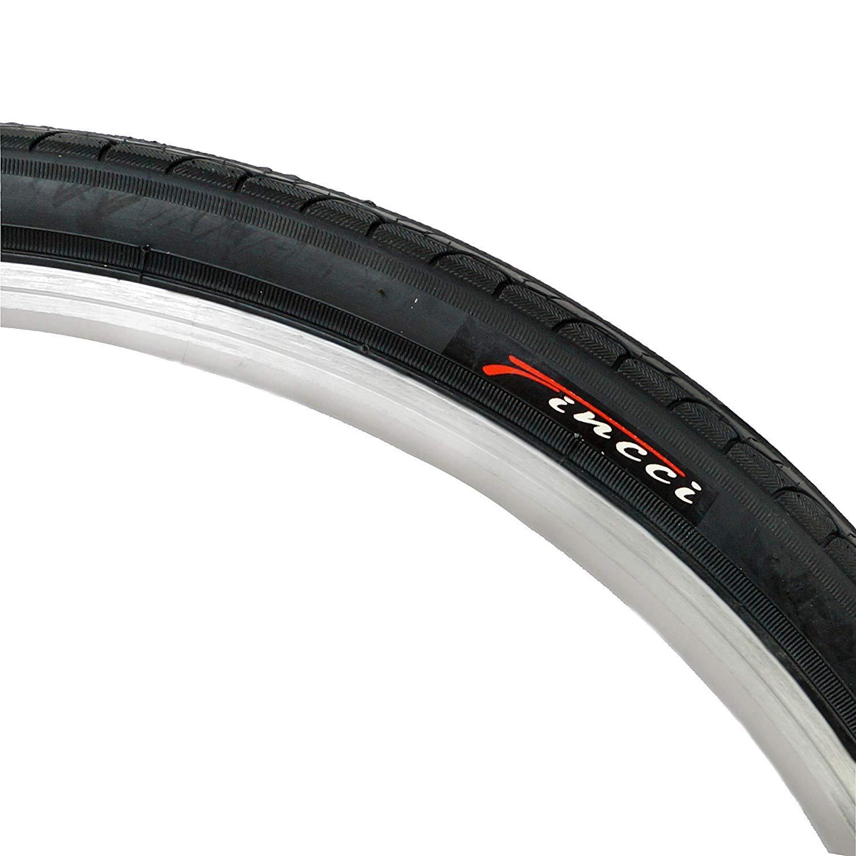 Fincci 26 x 1.25 Pulgados 32-559 Cubierta para MTB Monta/ña Ciclo Carretera Hibrida Bici Bicicleta