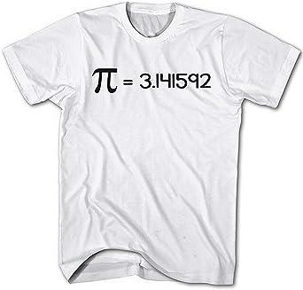 Camiseta Hombre Friki, Kreiszahl Pi ?=3.141592, Nerd, Fun: Amazon.es: Ropa y accesorios