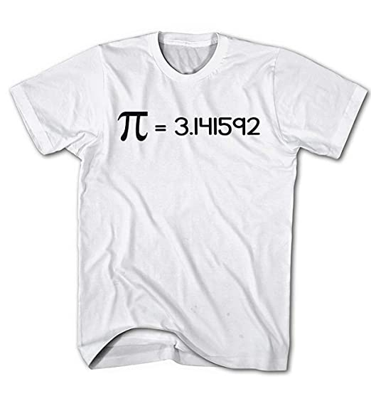Camiseta Hombre Friki, Kreiszahl Pi ?=3.141592, Nerd, Fun ...