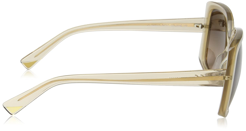 Nina Ricci SNR015-gafas de sol Mujer Marrón Marrón (SHINY ...