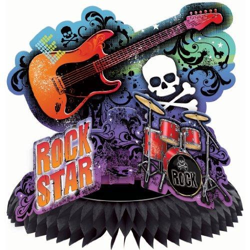 Rock Star Centerpieces - Rock Star