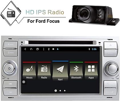 Android 8.1 Navegador estéreo para coche con radio Din doble Din ...