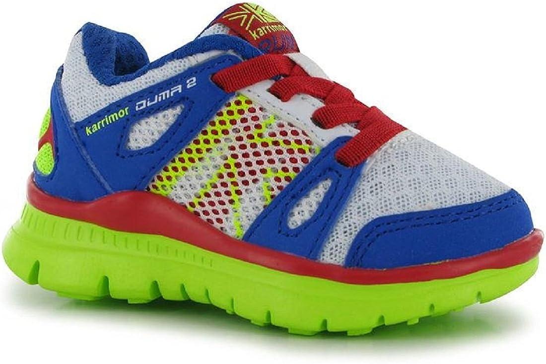 Niños Karrimor Duma 2 Zapatillas de Running – Color Blanco/Royal, Color Blanco, Talla 26 EU: Amazon.es: Zapatos y complementos