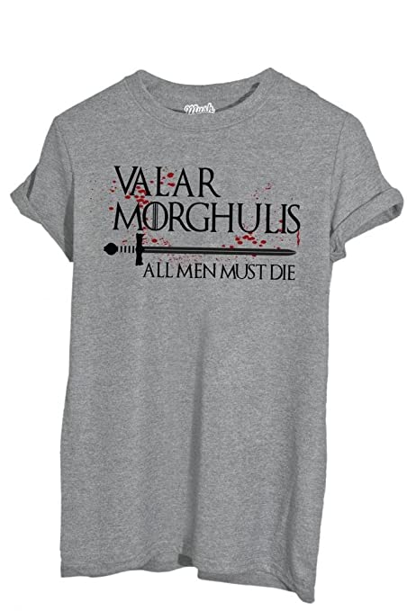 5 opinioni per T-Shirt VALAR MORGHULIS GAME OF THRONES- FILM by iMage Dress Your Style