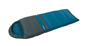 Wilsa Outdoor – Saco de Dormir Senderismo 14 ° Tipo Momia 180 x 70 cm Gris