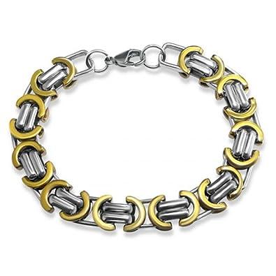 PLT joyas acero quirúrgico con baño de iones para hombre ...