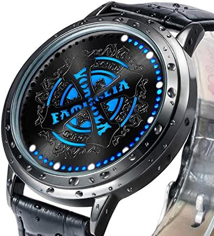 Wildforlife Anime Katekyo Hitman Reborn! Vongola Gear Collector's Edition Touch LED Watch