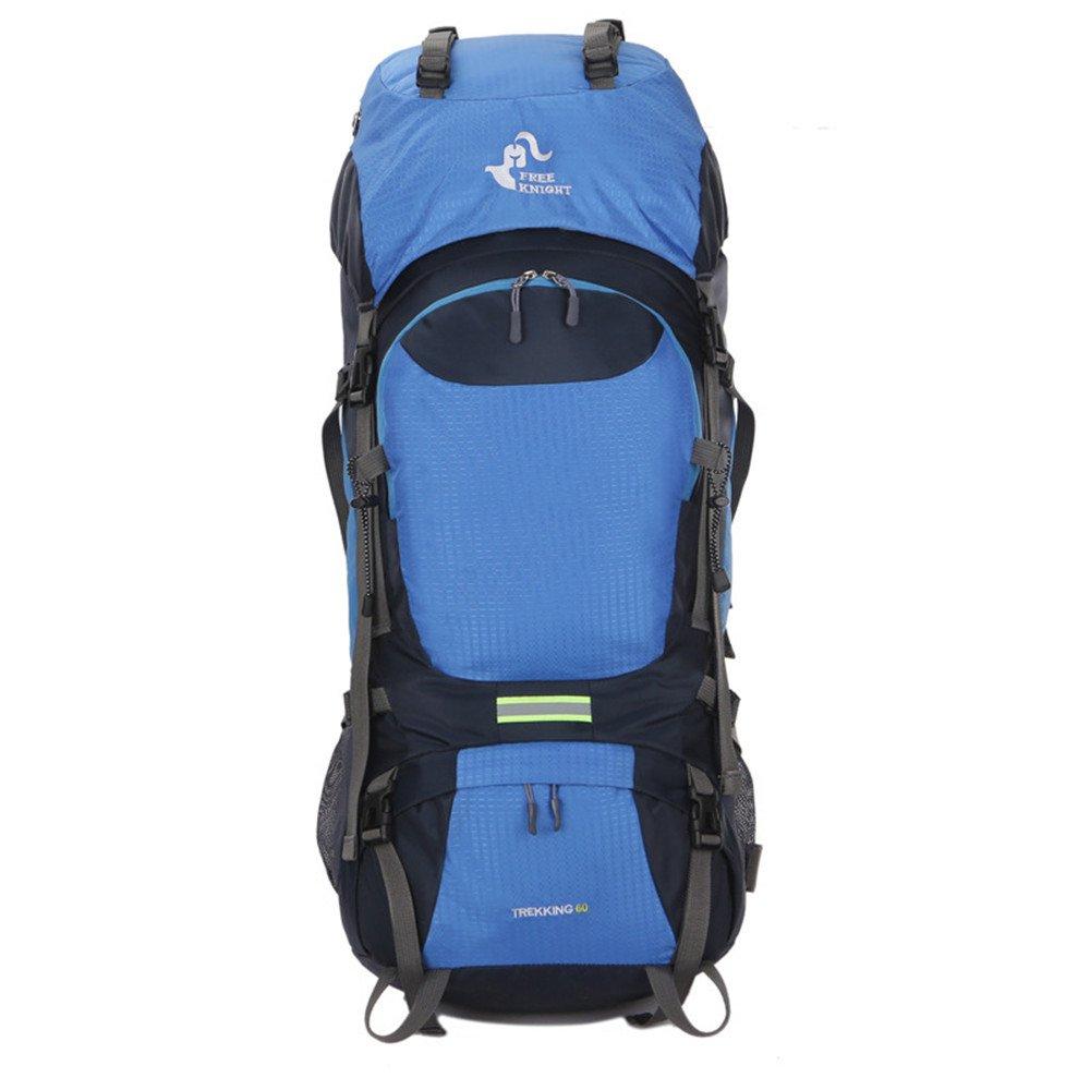 多機能バックパック、トラベルバックパック、大容量60Lハイキングバッグハイキングマウンテンラージバックパック快適なキャリングスポーツアウトドアバックパック   B07MP5YGRQ