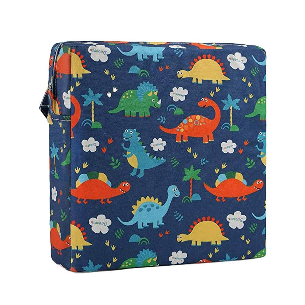 Cozy Booster Seat Cotton Washable Demountable Portable Increasing Anti-Slip Cushion Ceepko Baby Seat Cushion Square High Chair Travel Dining Seat Pad for Children Kids Toddlers Boys Girls