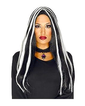 Horror-Shop peluca de pelo largo brujas María: Amazon.es: Juguetes y juegos
