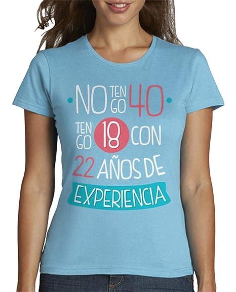 latostadora - Camiseta 1978 No Tengo 40 para Mujer