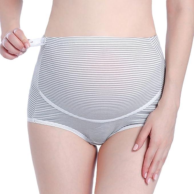 Ketamyy Bragas Embarazo Cintura Alta Cuidado Para El Abdomen Ropa Interior Premama Tamaño De La Cintura