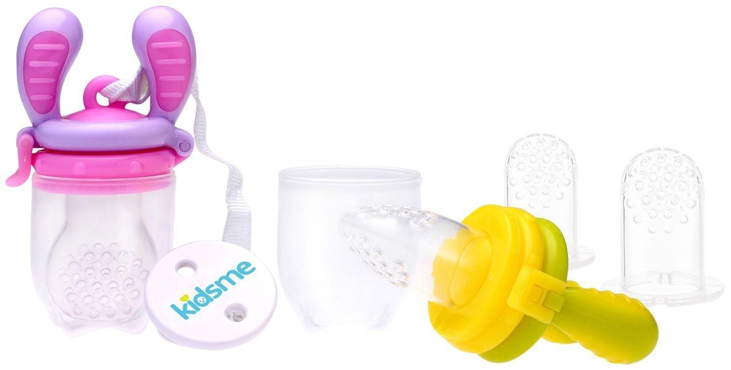 Kidsme Food Feeder Essential Set, Pink