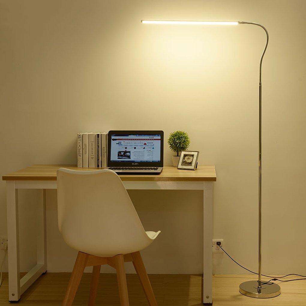 MoMo Stehlampe führte Stehlampe, Lernen, Lesen Grünikale Stehlampe, Augenschutz Grünikale Lampe (Farbe  DREI Farbtemperatur) B078ZB8XQW | Niedrige Kosten