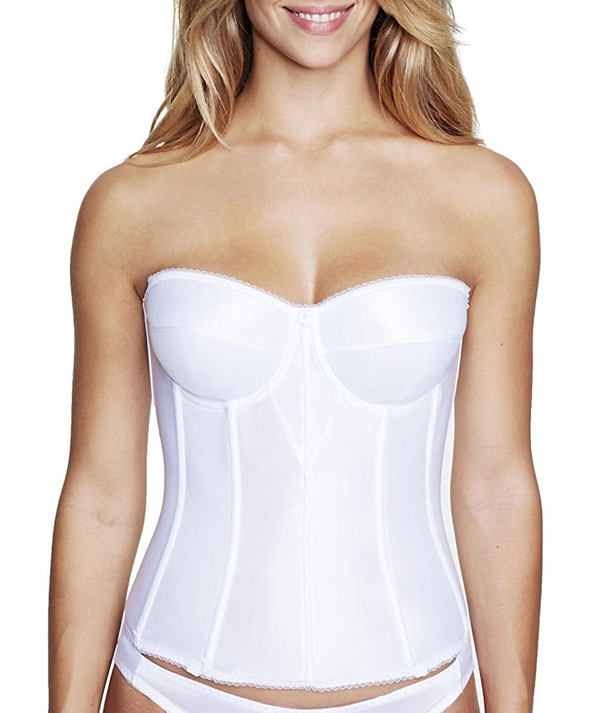 Dominique Longline Strapless Smooth Torsolette Bra 8950