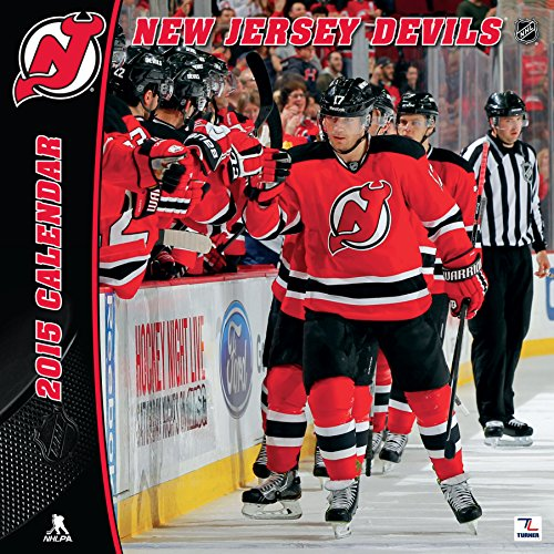 Turner Perfect Timing 2015 New Jersey Devils Team Wall Calendar a605f2c94