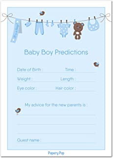 photograph relating to Baby Boy Shower Games Free Printable known as : Entertaining Little one Data Match Playing cards (Pack of 50) - Little one