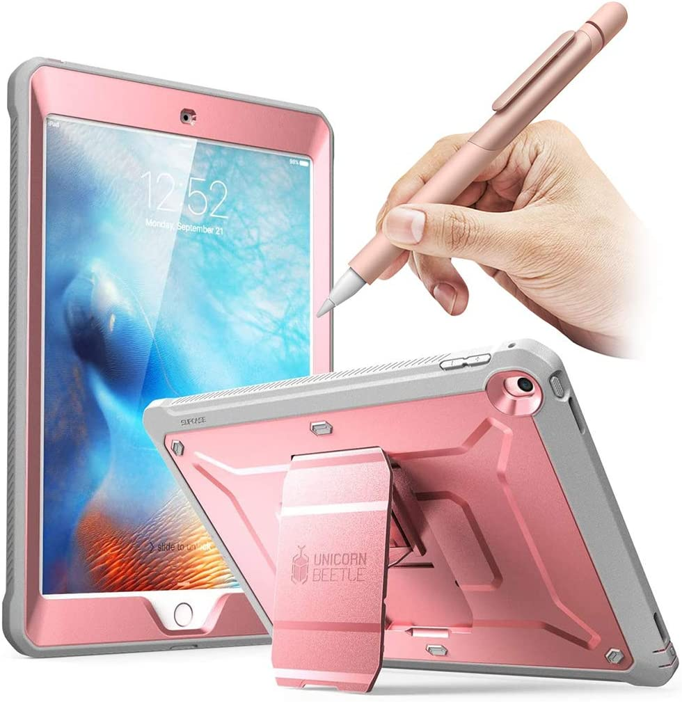 SUPCASE Bundle for iPad 9.7 2018/2017 - iPad 9.7 & Apple Pencil 1st Generation Protective Case