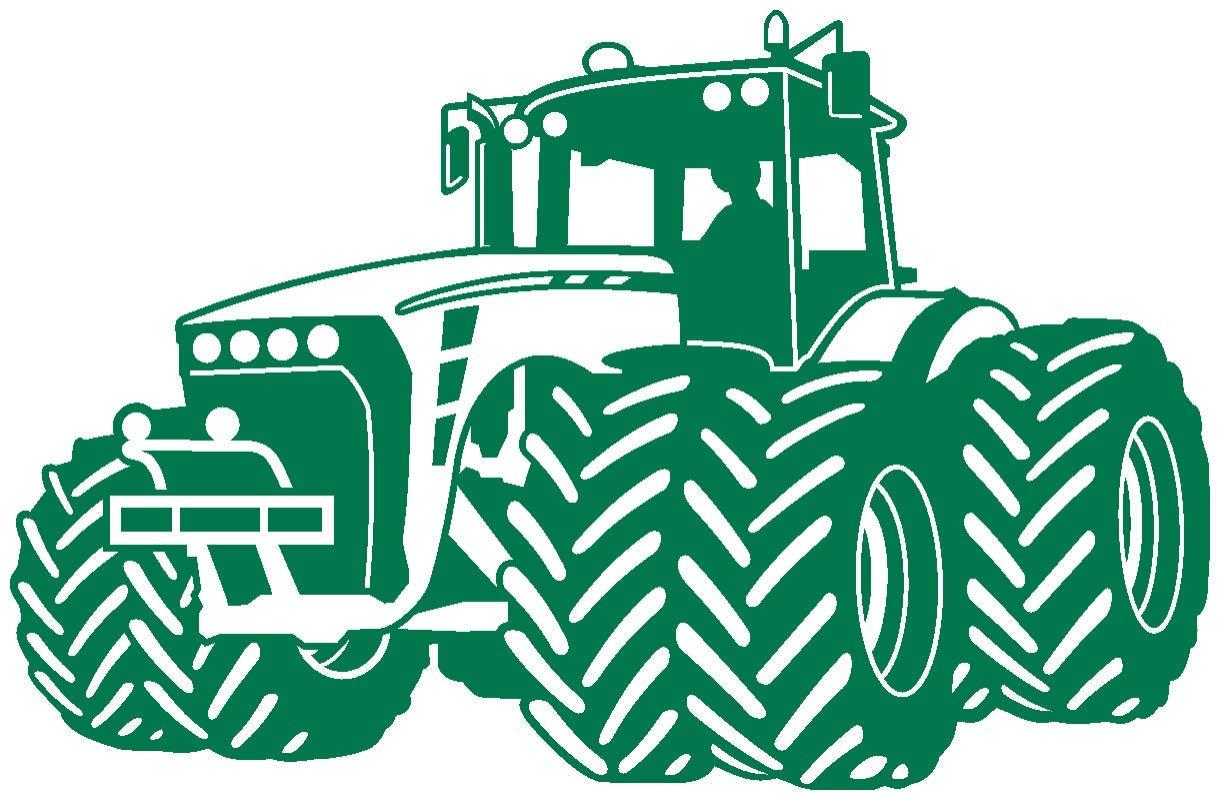 Samunshi® Wandtattoo Trecker Traktor Kinderzimmer Spielzimmer in 9 9 9 Größen und 19 Farben (110x70cm schwarz) B06VWJZ4SS Wandtattoos & Wandbilder f0989f