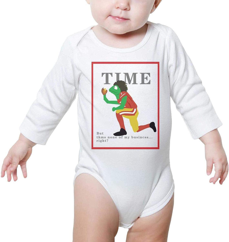 PPLOPO Boy//Girls Romper Bodysuit for Newborn Baby Onesies None/_of/_My/_Business Kermit Long Sleeve Romper Jumpsuit
