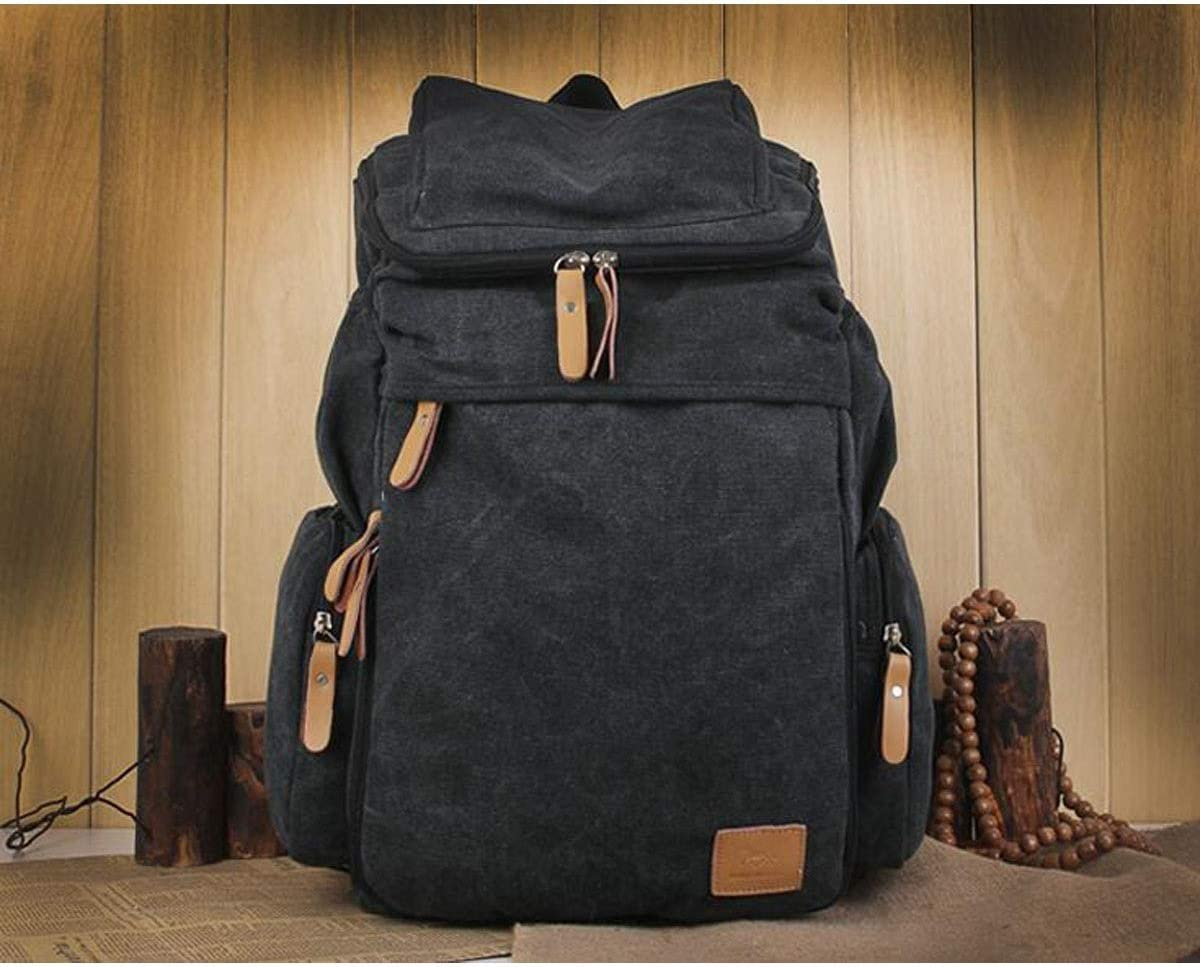Wearable Multi-Functional Canvas Laptop Backpack Fashion Outdoor Leisure Bag Travel Backpack Chenjinxiang Backpack