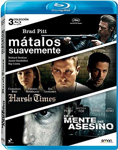 Pack: Mátalos Suavemente + Harsh Times + En La Mente Del Asesino [Blu-Ray] Br
