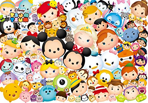 Tenyo Disney Lots of Tsum Tsum Jigsaw Puzzle (1000 Piece) (Donald Duck Puzzles 1000 Piece compare prices)