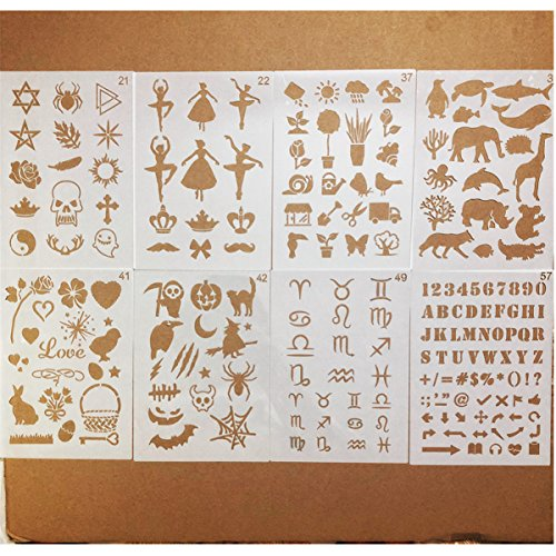 Great stencils for bullet Journaling